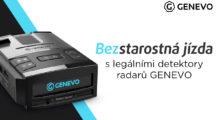 Zažijte bezstarostnou jízdu s legálními detektory radarů od GENEVO [sponzorovaný článek]