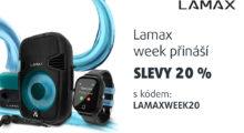 Lamax týden plný slev! [sponzorovaný článek]