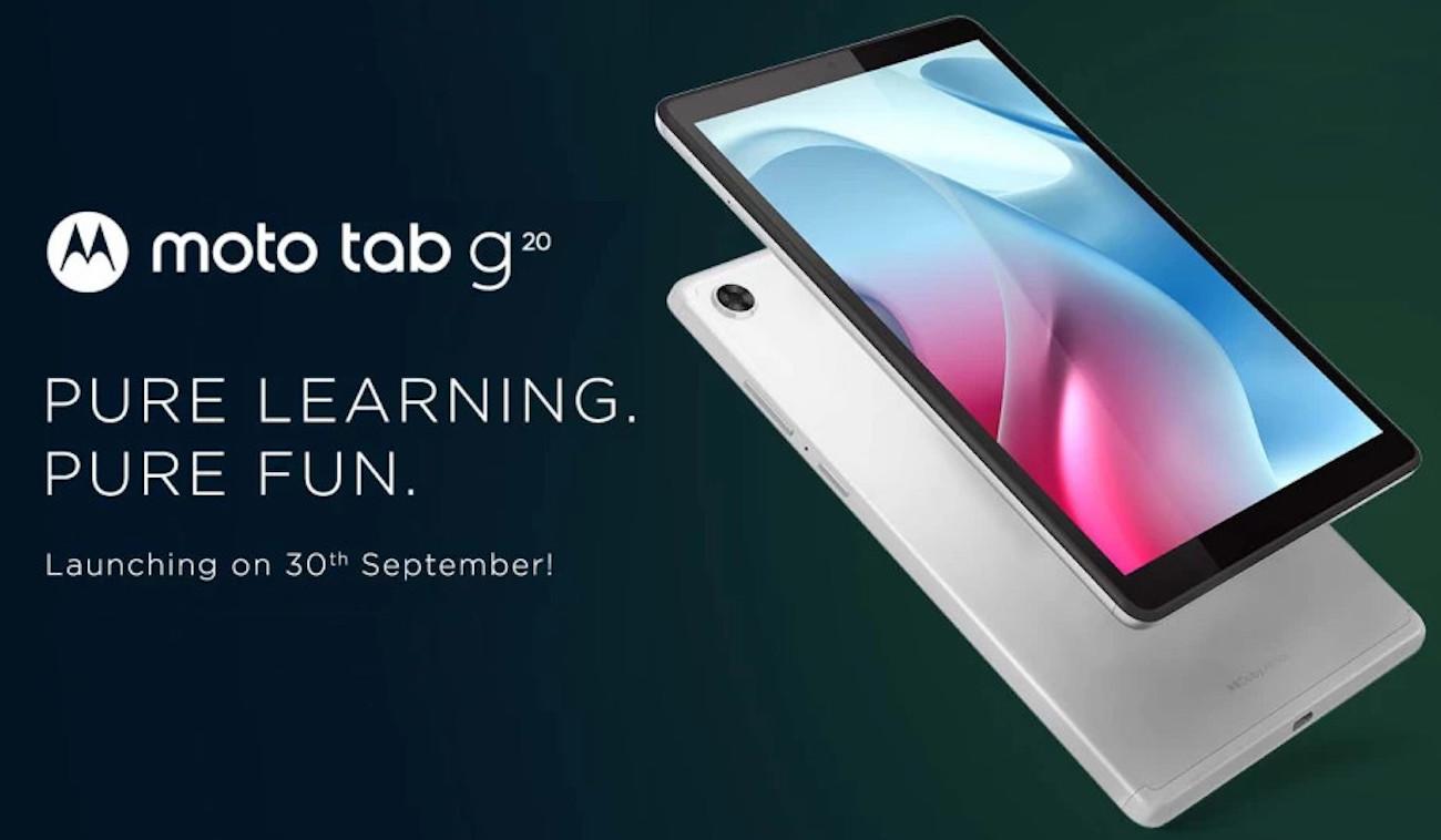 Motorola Moto Tab G20 přijde 30. září