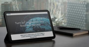 Nokia T20; Zdroj: HMD Global