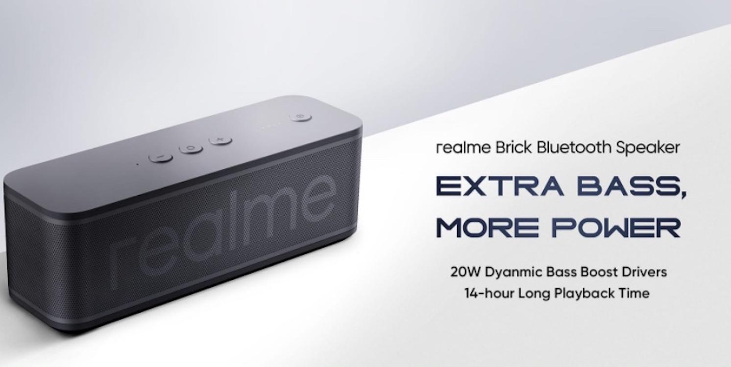 Brick je nový reproduktor od Realme