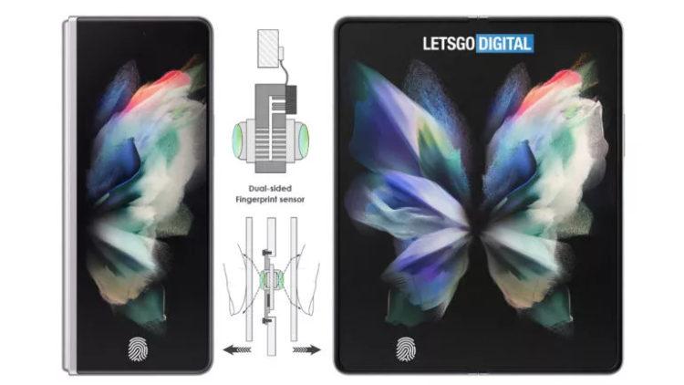 Samsung foldable dual sided fingerprint LetsGoDigital edit 770w 433hjpg 770x433x