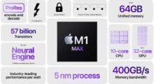 M1 Max má výkonnější GPU než PlayStation 5