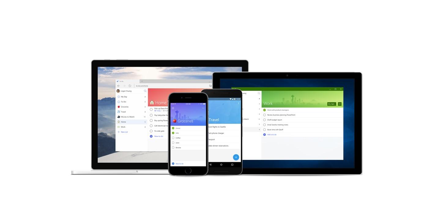 Microsoft To Do přináší funkce z pohřbeného Wunderlistu