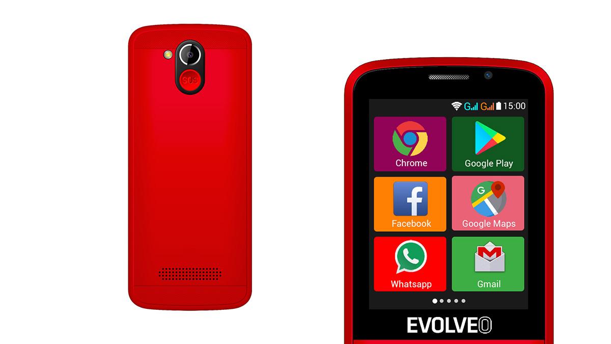 EasyPhone AD je novinka od Evolveo s Androidem 4.4.2 KitKat